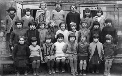 Class Picture, Paris, France (c.1928)