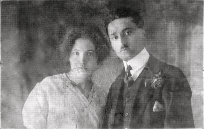 Grandpa's Brother Giuseppe & Bride