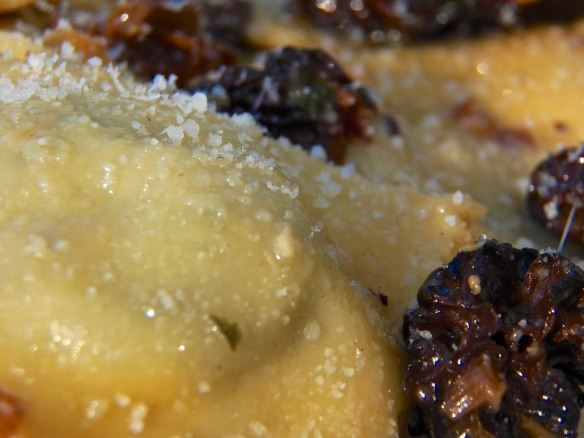 Ramps Ravioli with Morel Mushrooms 3