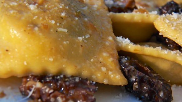 Ramps Ravioli with Morel Mushrooms 2