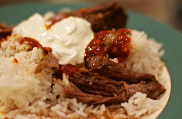 Braised Goat with Harissa