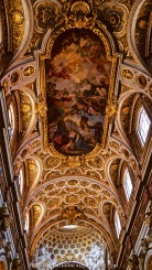 The Ceiling of the Church of St Louis of the French