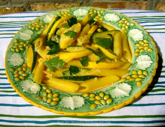 Zucchini Penne Pasta