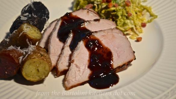 Pork Tenderloin - Plums 1