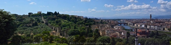 Florence, East of the Arno River