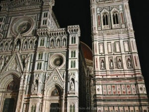 Peek-a-Boo Duomo, at night
