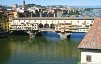 Ponte Vecchio as seen from the Uffizi Gallery