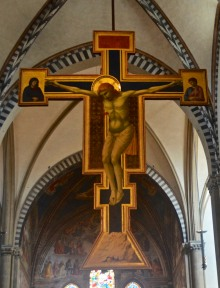 "Santa Maria Novella, Giotto ""Crucifix"""