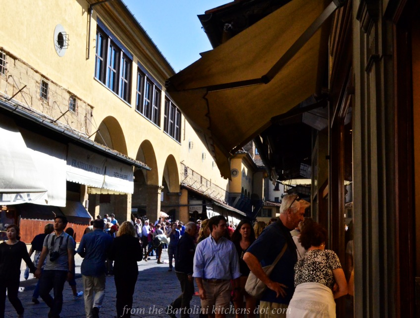 Shopping on the Ponte Vecchio