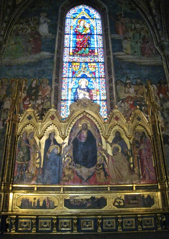 The Altarpiece of the Capella Stozzi. Santa Maria Novella