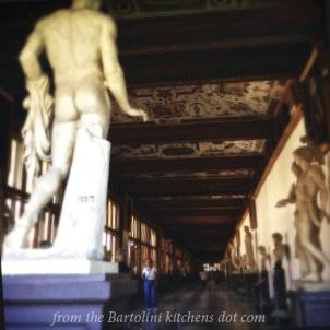 Uffizi corridor