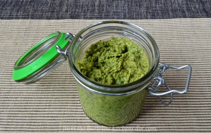 Garlic Scapes Pesto
