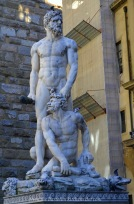 """Hercules and Cacus"" by Bandinelli"