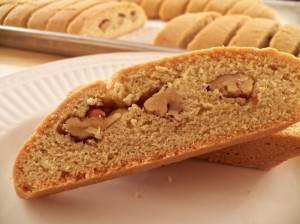Biscotti with Pecans