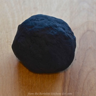 Squid ink pasta dough 4