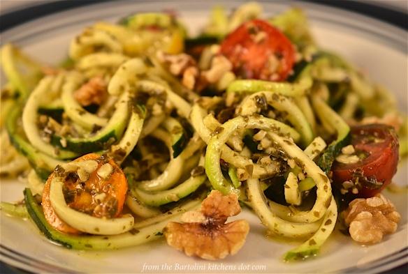 Zucchini Pesto Pasta 3