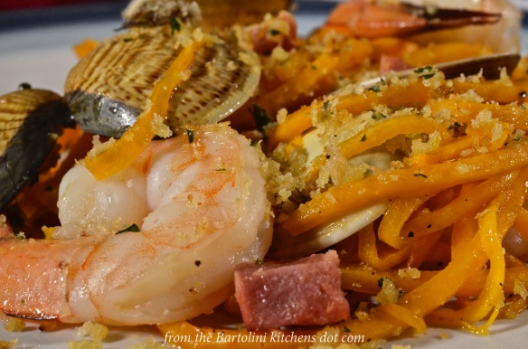 Squash with Seafood 1