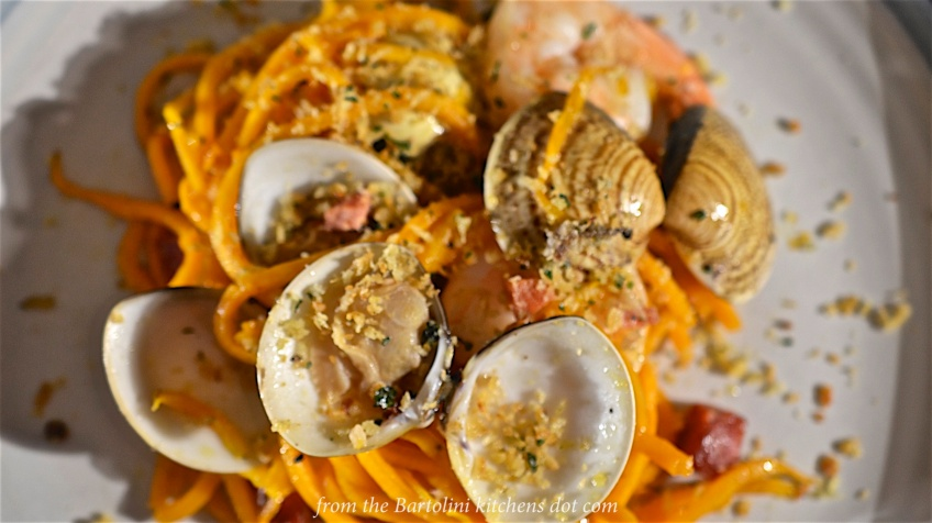 Squash with Seafood 3