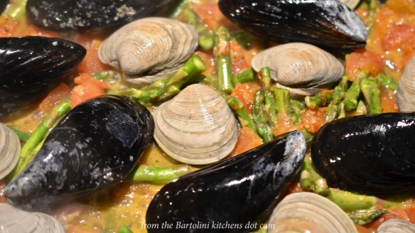 Trenette with Clams and Mussels 1