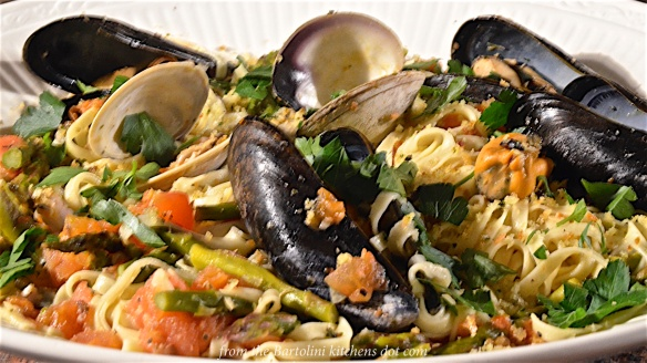 Trenette with Clams and Mussels 4