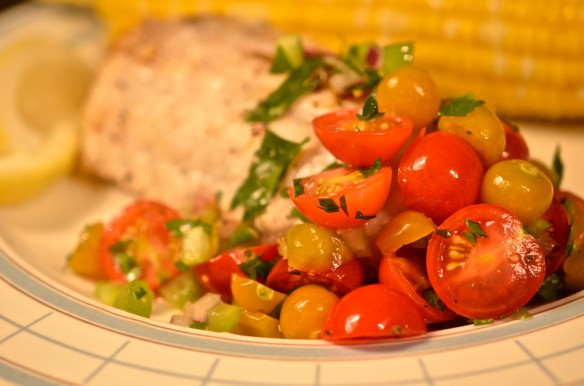 Salsa Served