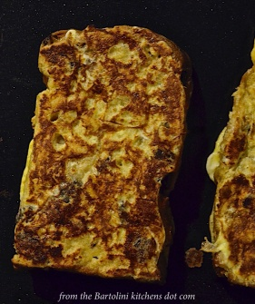 Pain Perdu on the Griddle