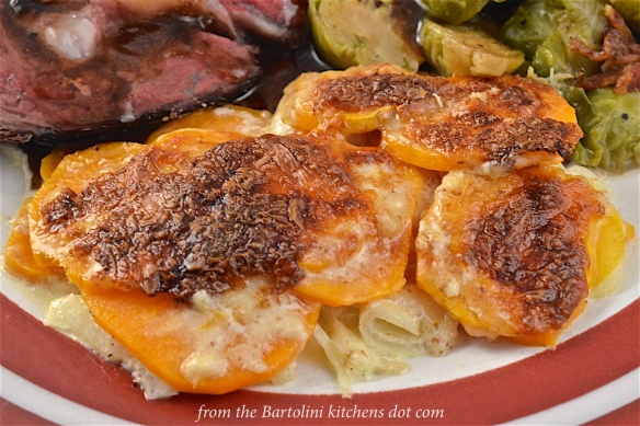 Sweet Potatoes au Gratin 4