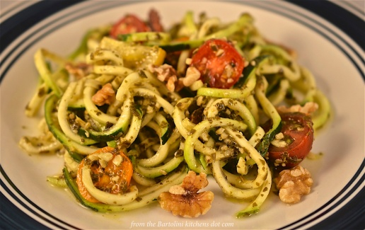 Zucchini Pesto Pasta Preview