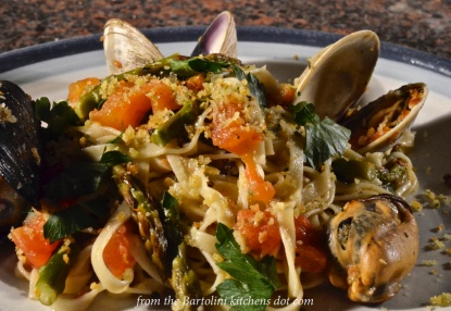 Trenette with Clams and Mussels Preview