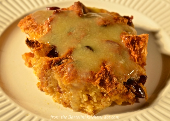 Panettone Bread Pudding Preview