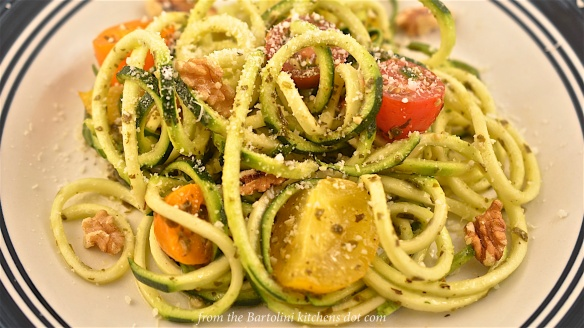 Zucchini Pesto Pasta 6