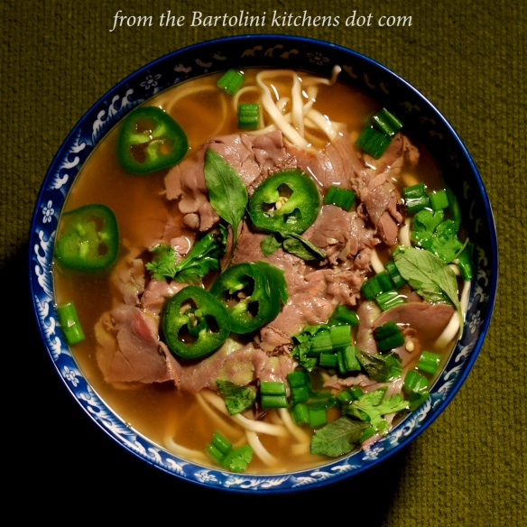 Quick — and Easy — Beef Pho | from the Bartolini kitchens