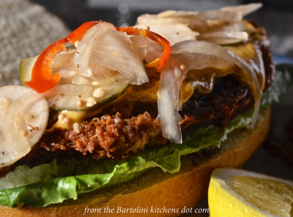 Soft Shell Crab Po' Boy 5
