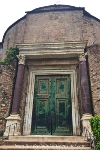 The Entrance to the Roman Senate