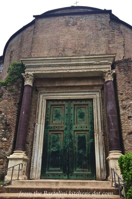 The Entrance to the Roman Senate