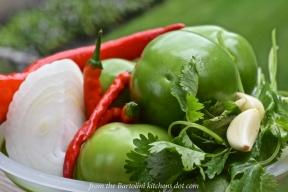 Roast Tomatillo Salsa 1