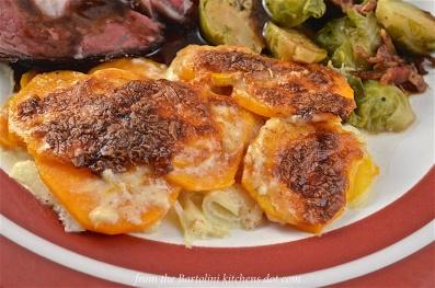 Sweet Potatoes au Gratin Preview
